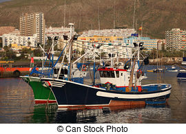 Stock Photos of Shoal of fish in Los Gigantes harbour csp6861753.