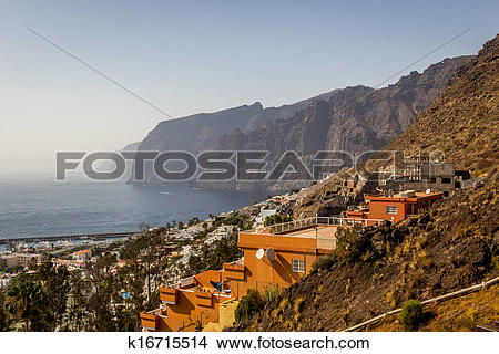 Stock Photo of Tenerife, Los Gigantes k16715514.