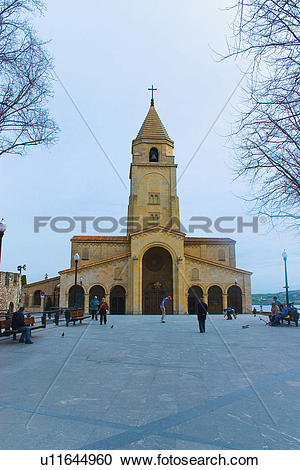 Stock Photography of Spain, Asturias, Gijon, City, Town.