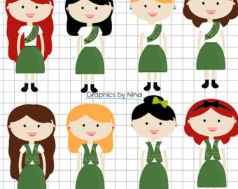 Girl scout clipart.