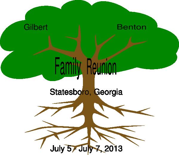 Gilbert Benton Family Reunion Clip Art at Clker.com.