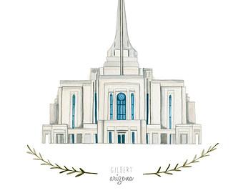 Gilbert temple clipart.