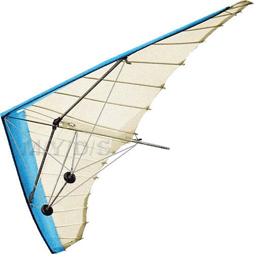 Hang glider clip art.