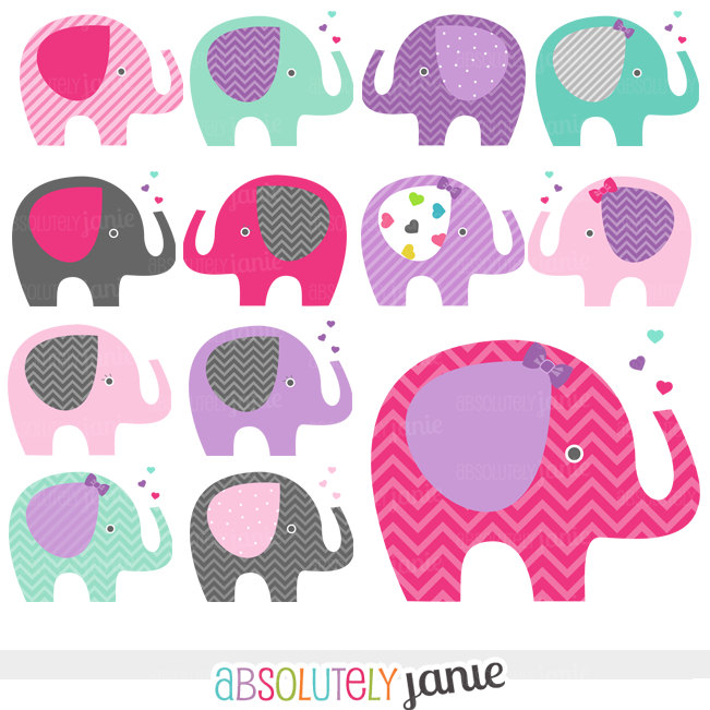 Cute clipart girlie baby.