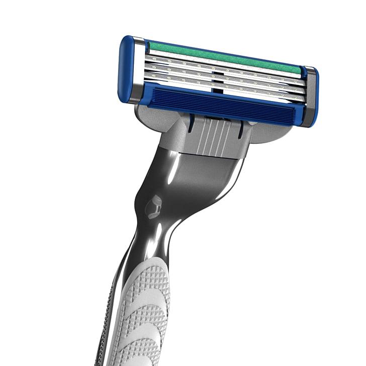 Gillette Mach3 Safety razor Shaving, gillette razor PNG.