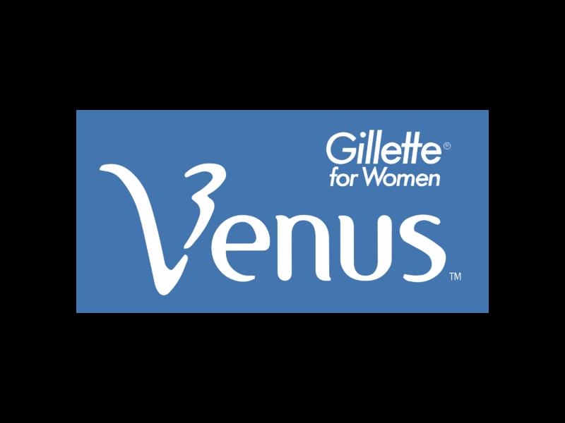 Gillette Venus Logo PNG Transparent & SVG Vector.