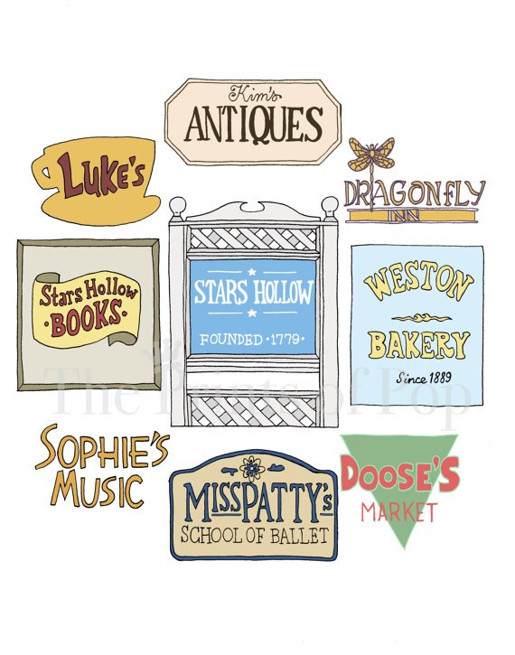 Gilmore girls clipart 4 » Clipart Portal.
