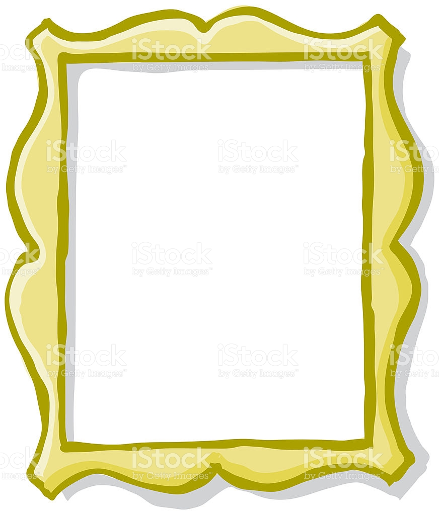 Vector Gilt Frame Gold Ornate stock vector art 93164129.