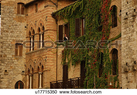 Stock Photography of San Gimignano, Tuscany.