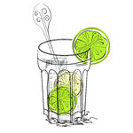 Clipart gin and tonic.