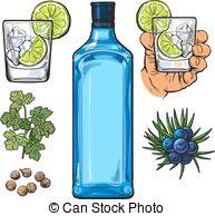 Gin tonic Vector Clipart Royalty Free. 146 Gin tonic clip art.
