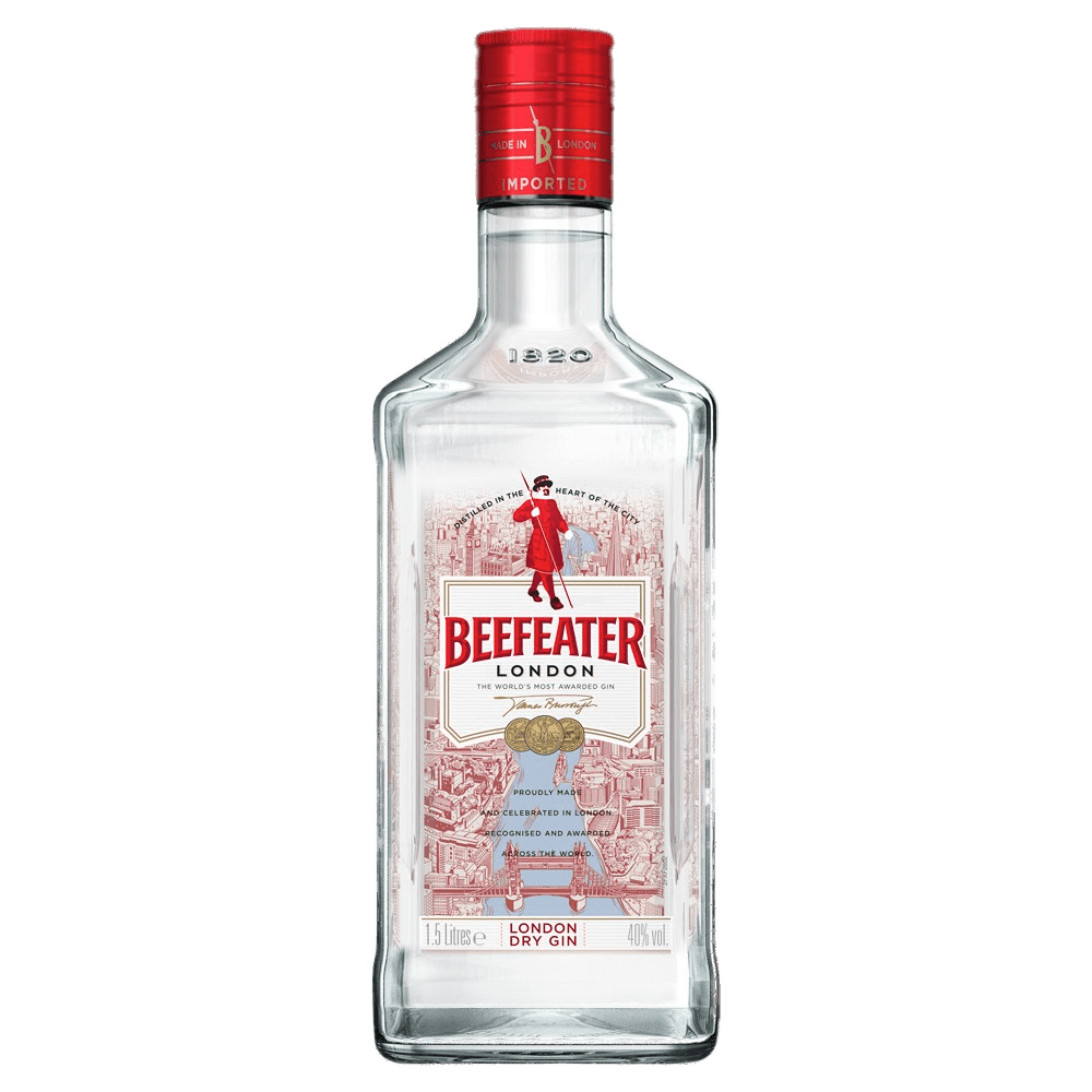 Beefeater London Dry Gin transparent PNG.