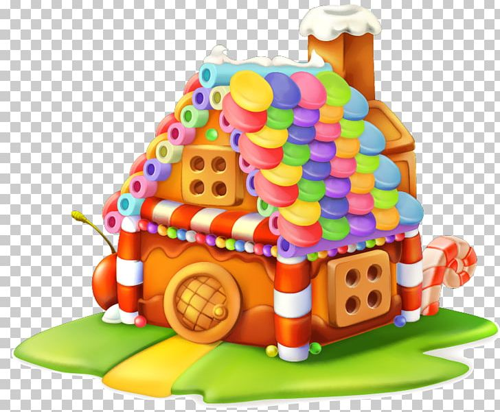 Gingerbread House Cupcake Sweetness Candy PNG, Clipart.