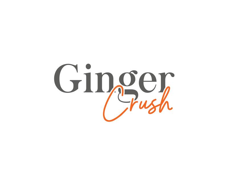 GINGER CRUSH by Senja Creative Design on Dribbble.