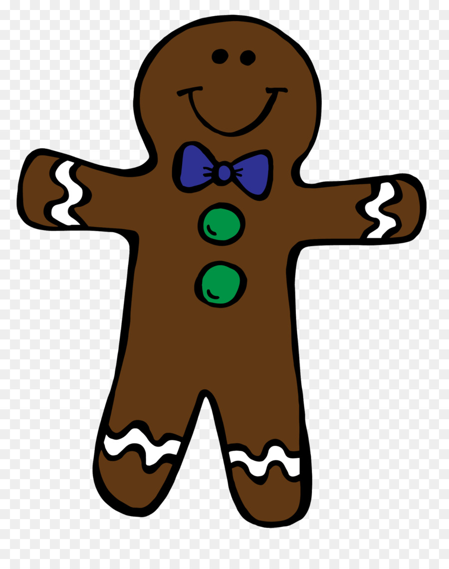 Christmas Gingerbread Mantransparent png image & clipart free download.