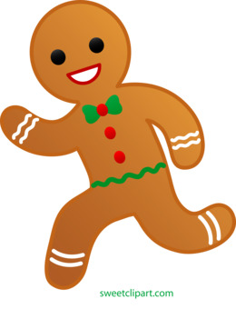 Gingerbread Boy clipart.