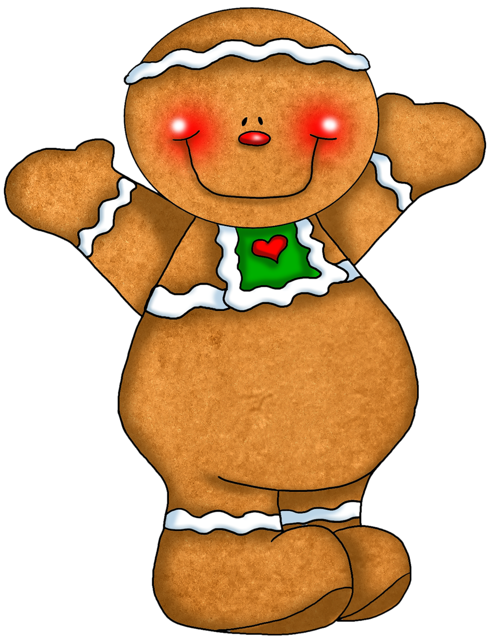 Gingerbread Clipart & Gingerbread Clip Art Images.