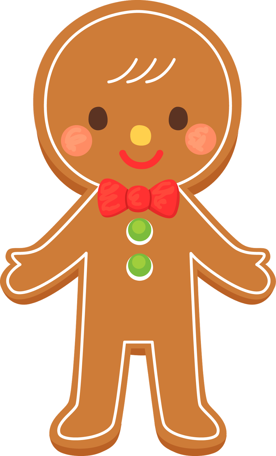 Christmas gingerbread man clip art clip art gingerbread image 4.