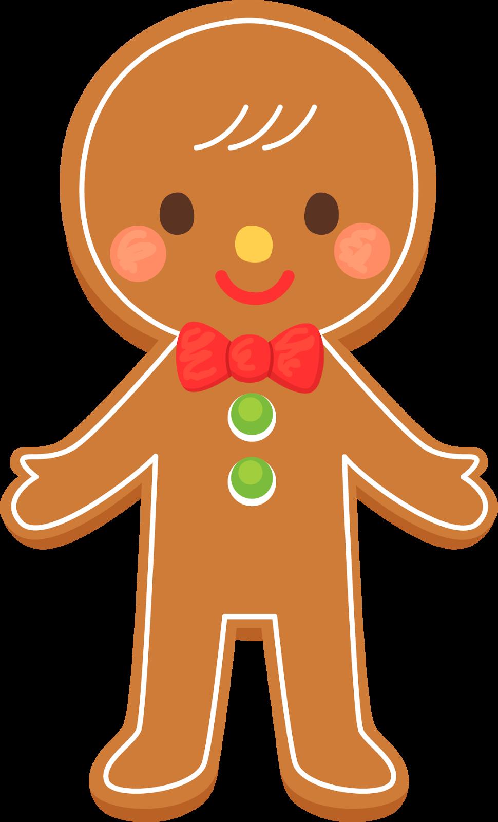 Christmas gingerbread man clip art clip art gingerbread image 4.