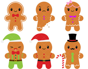 gingerbread clipart.