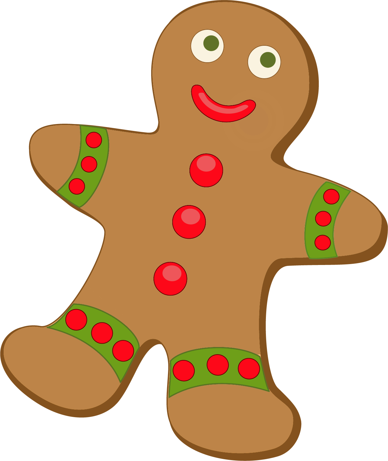 Gingerbread clipart - Clipground