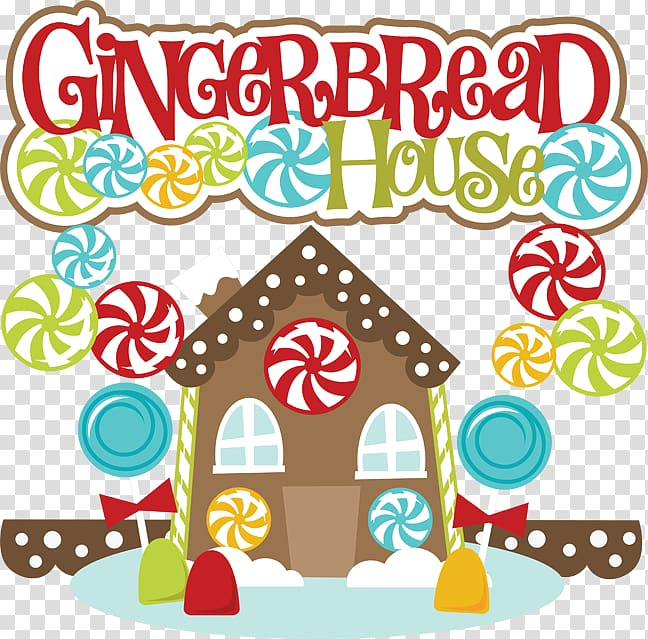 Gingerbread house Scalable Graphics , Gingerbread Border.