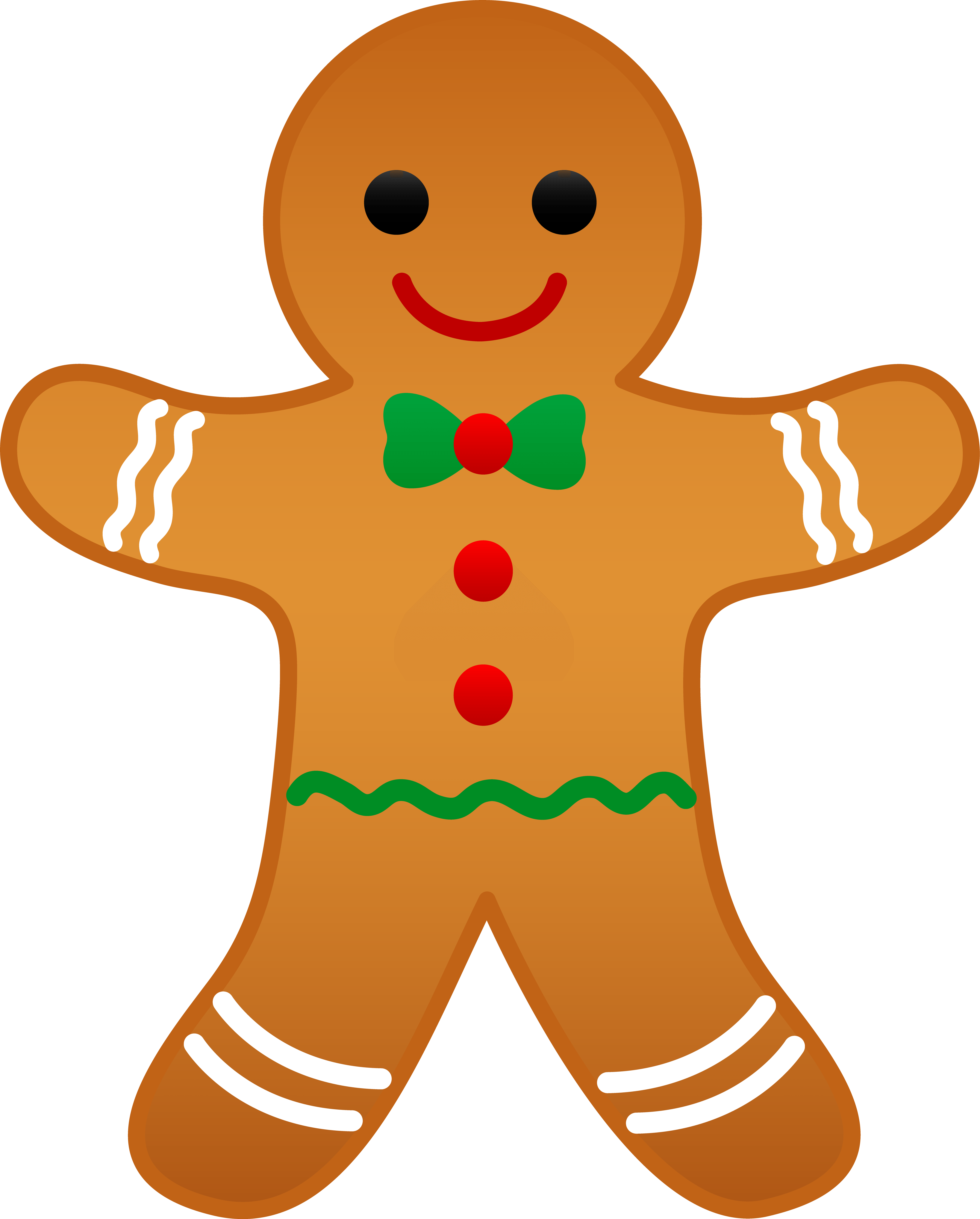 Gingerbread Cookie Cliparts.