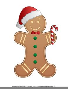 Clipart Gingerbread Man Running.