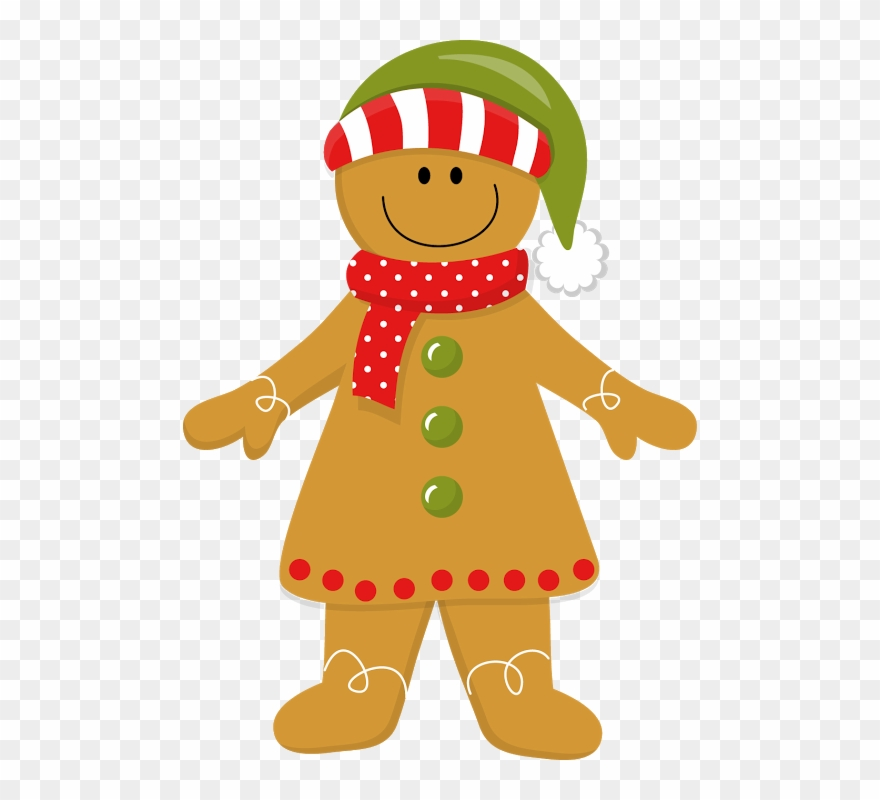 Christmas Gingerbread Girl *.