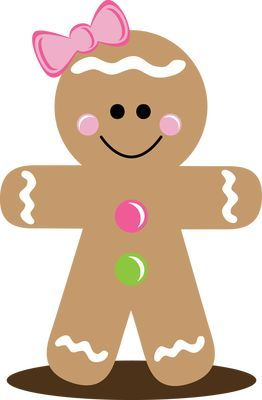 Gingerbread girl clipart 1 » Clipart Station.
