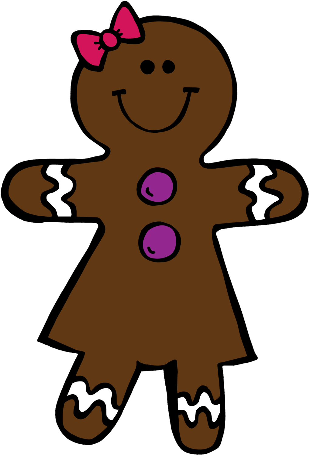 Collection Of Gingerbread Girl Clipart High Quality,.
