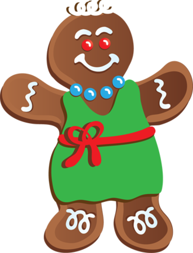 HD Gingerbread Clipart Gingerbread Outline.