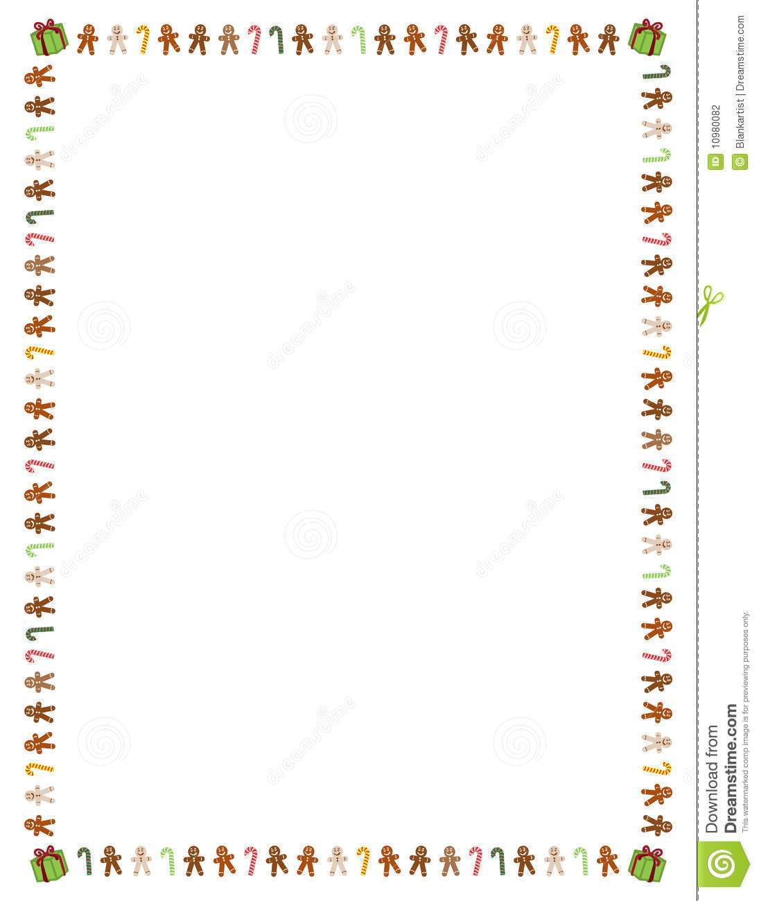Gingerbread house border clipart 7 » Clipart Portal.