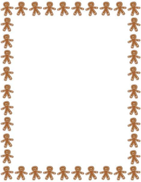 Gingerbread house border clipart 5 » Clipart Portal.