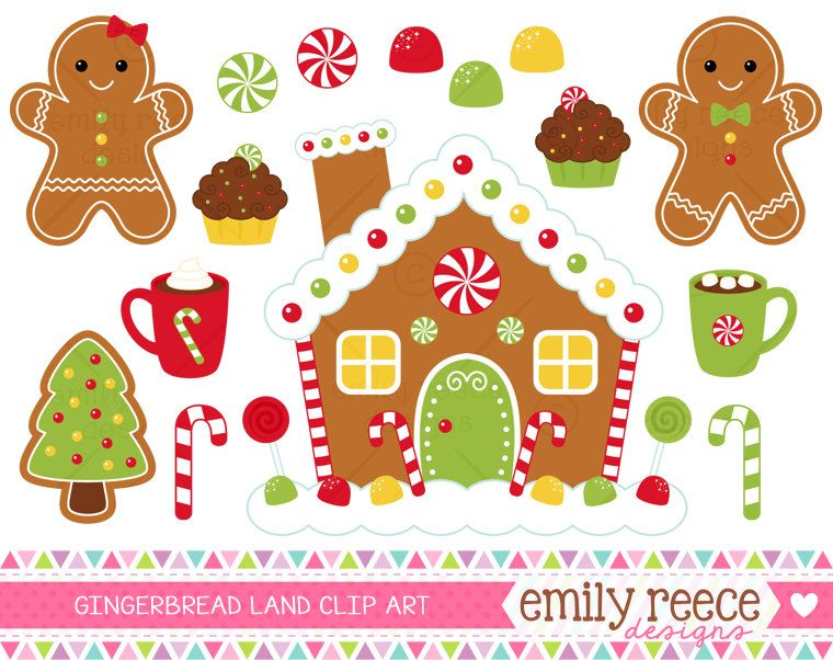 free gingerbread house printables.