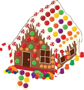 Gingerbread House Clip Art & Gingerbread House Clip Art Clip Art.
