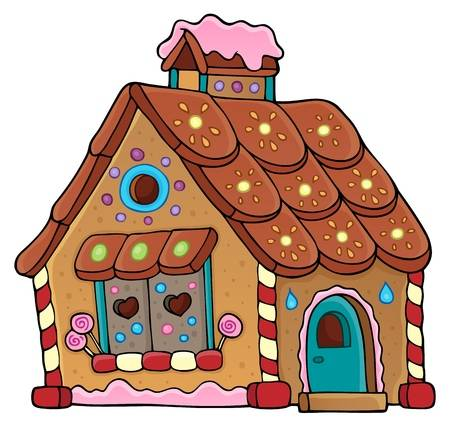 3,589 Gingerbread House Stock Illustrations, Cliparts And Royalty.