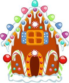 gingerbread house clipart.