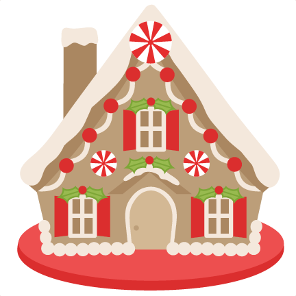 Gingerbread House Clipart Png.