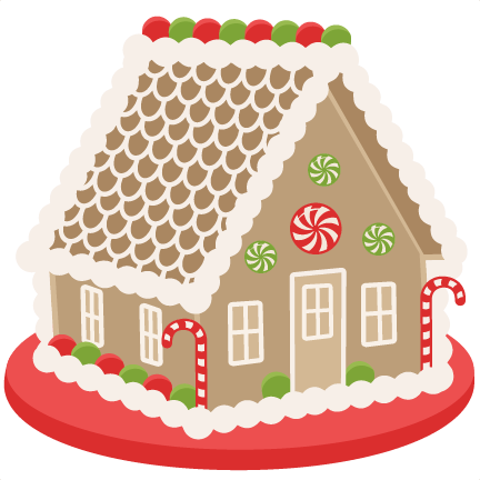 Christmas gingerbread house clipart clip art library.