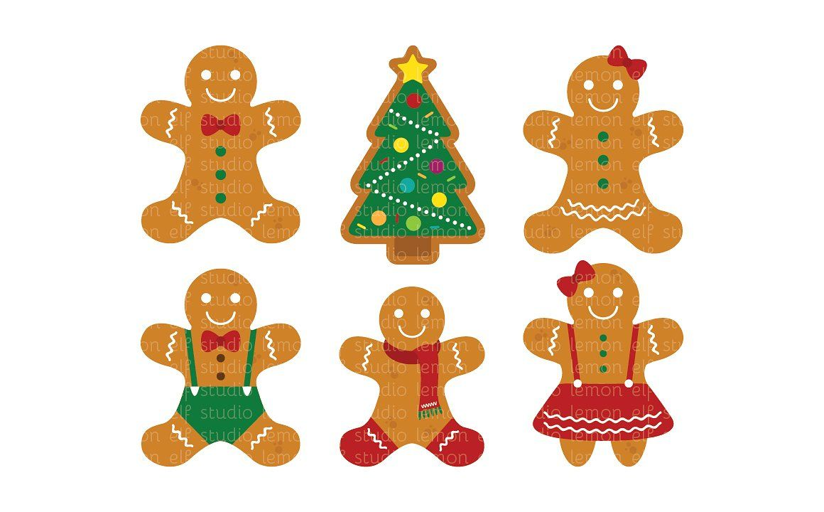 Gingerbread Clipart (LES.CL51) #saved#separately#quot.