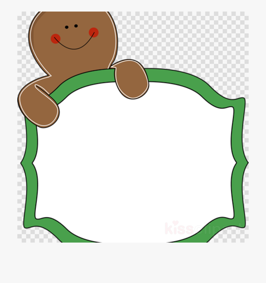 Download Gingerbread Man Border Clipart Gingerbread.