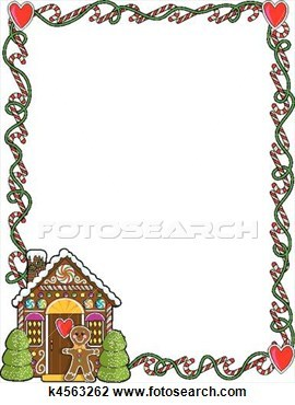 Gingerbread man border clipart free 1 » Clipart Portal.