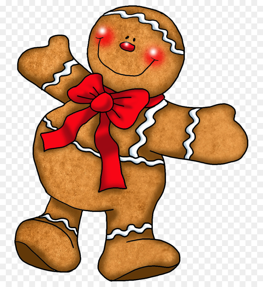 Christmas Gingerbread Man clipart.