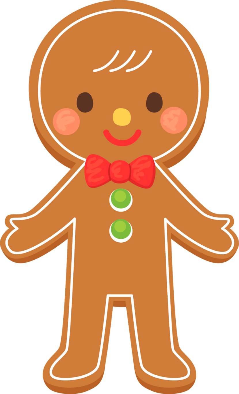 Gingerbread Man Clip Art & Gingerbread Man Clip Art Clip Art.