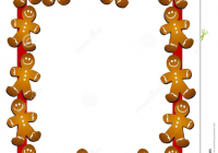 Free Gingerbread Man Border Clipart Images At Clker Com Glamorous.