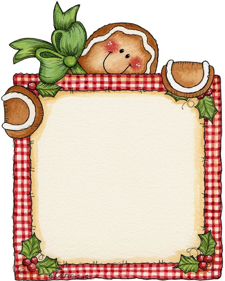 Free Gingerbread Man Border, Download Free Clip Art, Free Clip Art.