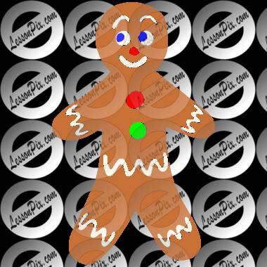 Gingerbread Man Clipart Classroom.