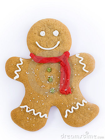 Clipart Sad Gingerbread Man.