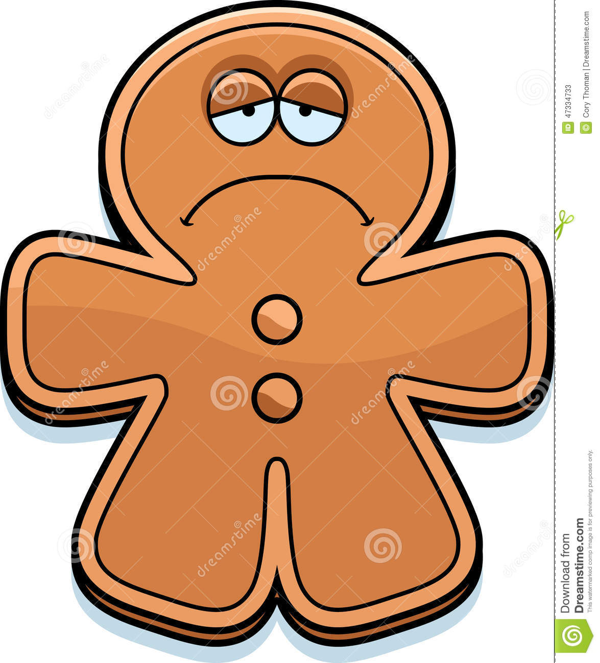 Showing post & media for Sad gingerbread man cartoon.